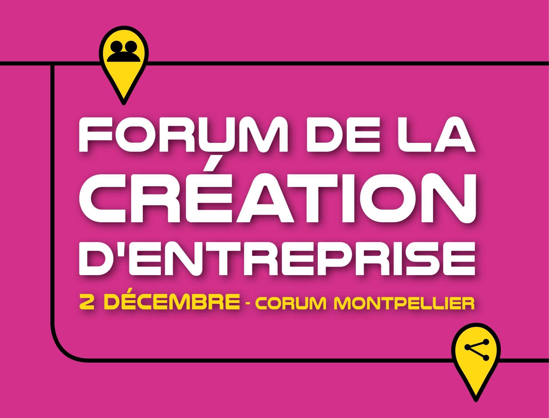 Offre Spéciale Domiciliation Pour Le Forum De La Création D'entreprise De Montpellier